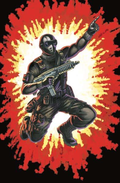 GI Joe Real American Hero #264 Silent Master Variant Cover B Thursday