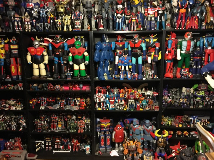 Scott Zillners Robot Wall Collection