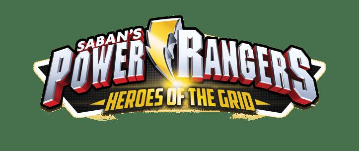 Power Rangers Heroes of the Grid Logo