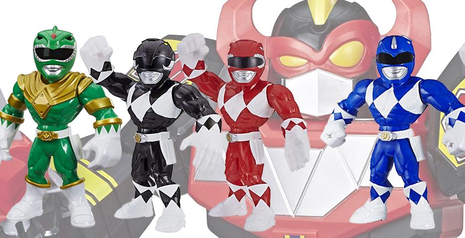 Mighty Morphin Coll Playskool Heroes Mega Mighties Green Ranger 10-inch Figure