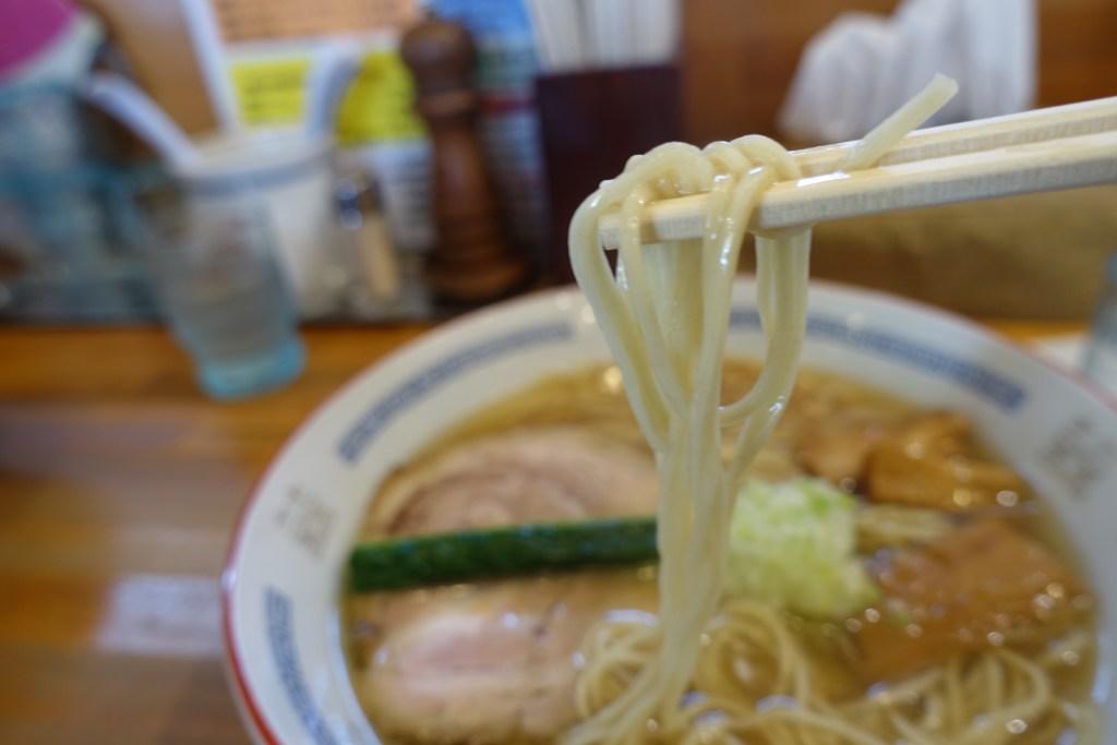 麺(塩ねぎラーメン)