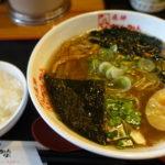 【飛騨ちんかぶ】富山市で優しい味の飛騨中華そばを。とんかつ等、定食メニューも豊富なお店は落ち着く空間!