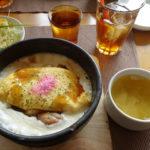 【洋食day's(デイズ)/富山市】石焼きオムライスが名物!富山市婦中町の洋食屋さんで熱々ランチをいただく!