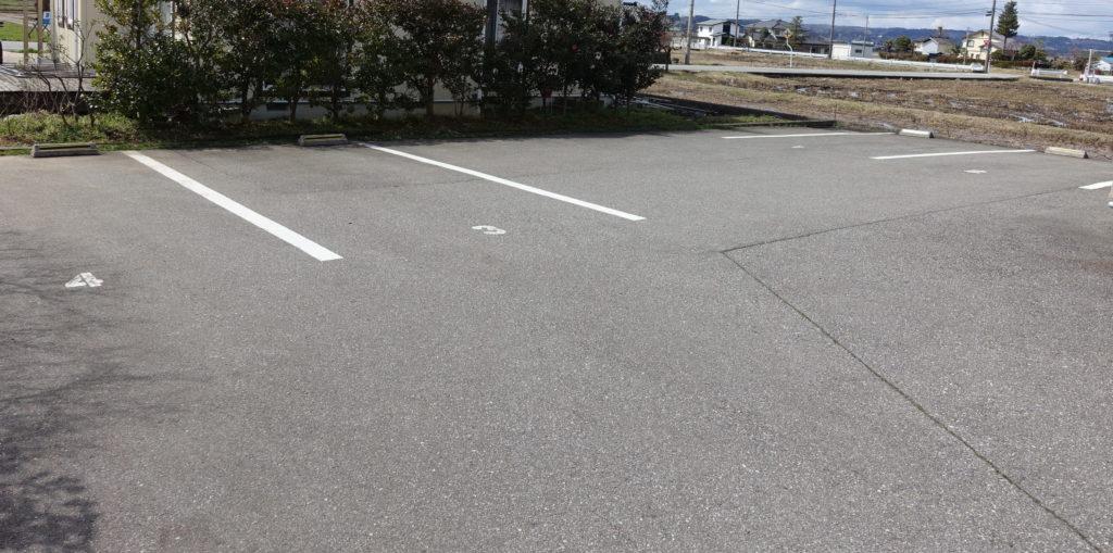駐車場(お店の裏)