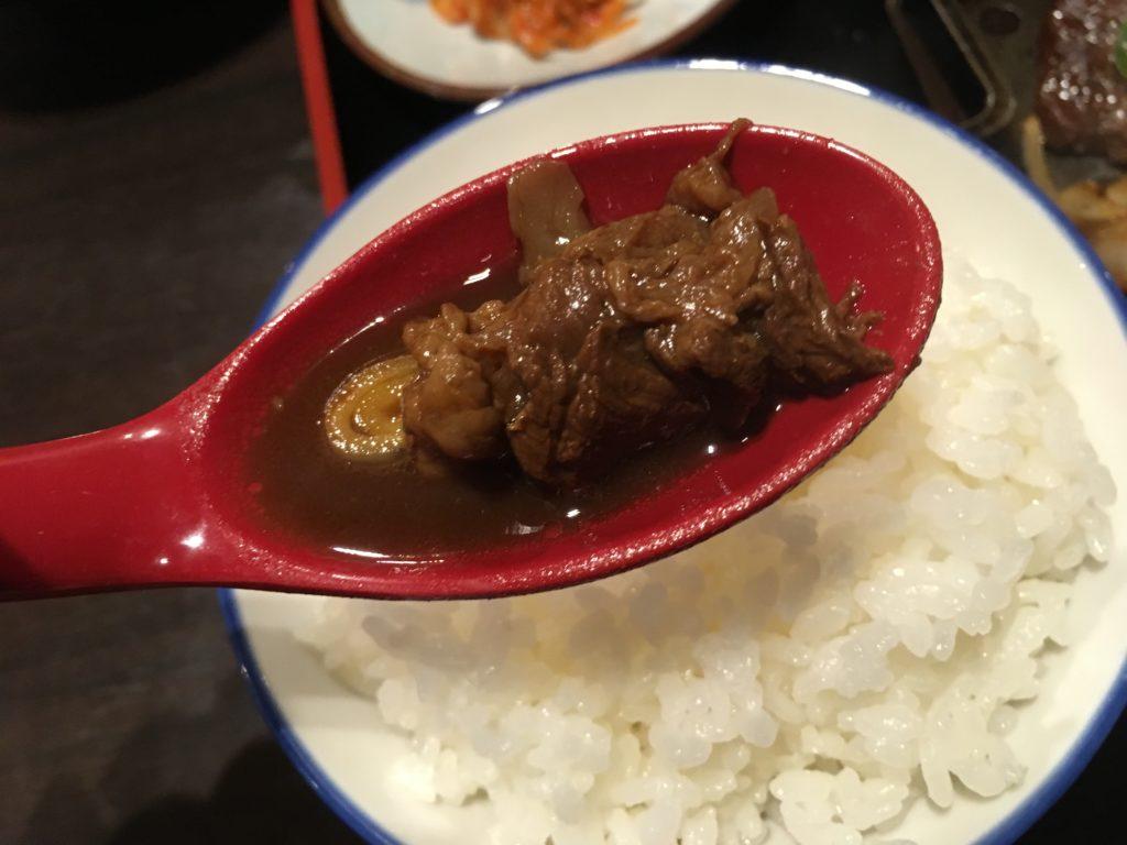 赤炊きの牛すじ(その3)