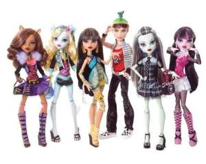 Monster High куклы 2010