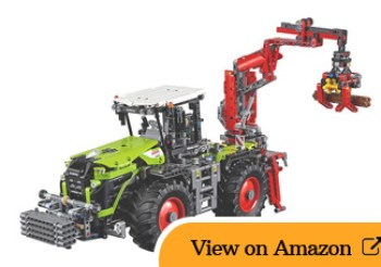 Lego Technic CLAAS XERION 5000 TRAC VC review