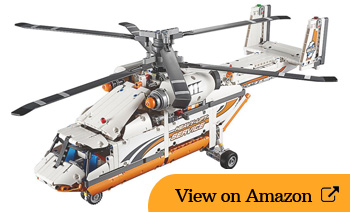 Lego Heavy Lift Helicopter Review