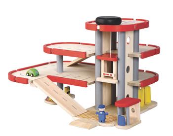 Plan Toys City Series Parking Garage Review