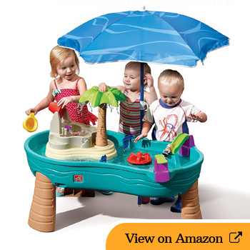 Step2 SPLISH SPLASH SEAS WATER TABLE Review