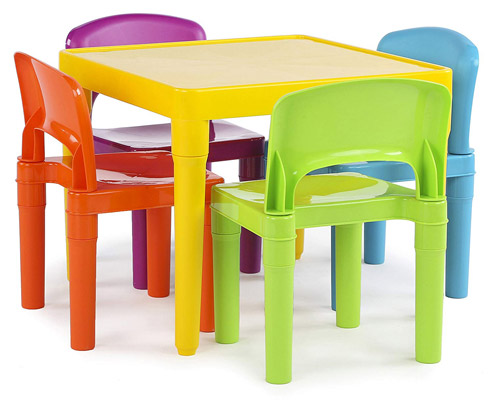 Tot Tutors Kids Plastic Furniture Set