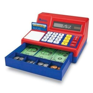Learning Resources Pretend & Play Calculator Cash Register Review