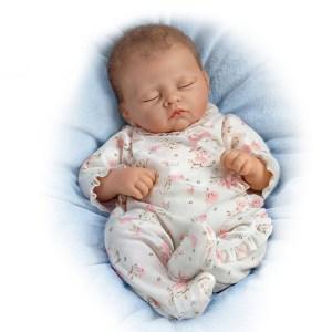 Ashton-Drake Sophia Baby Doll Breathes