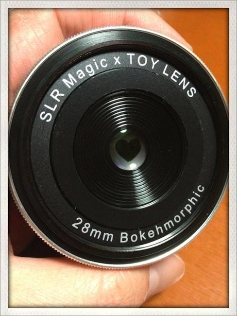 SLR Magic x Toy Lens 28mm Bokehmorphic lens