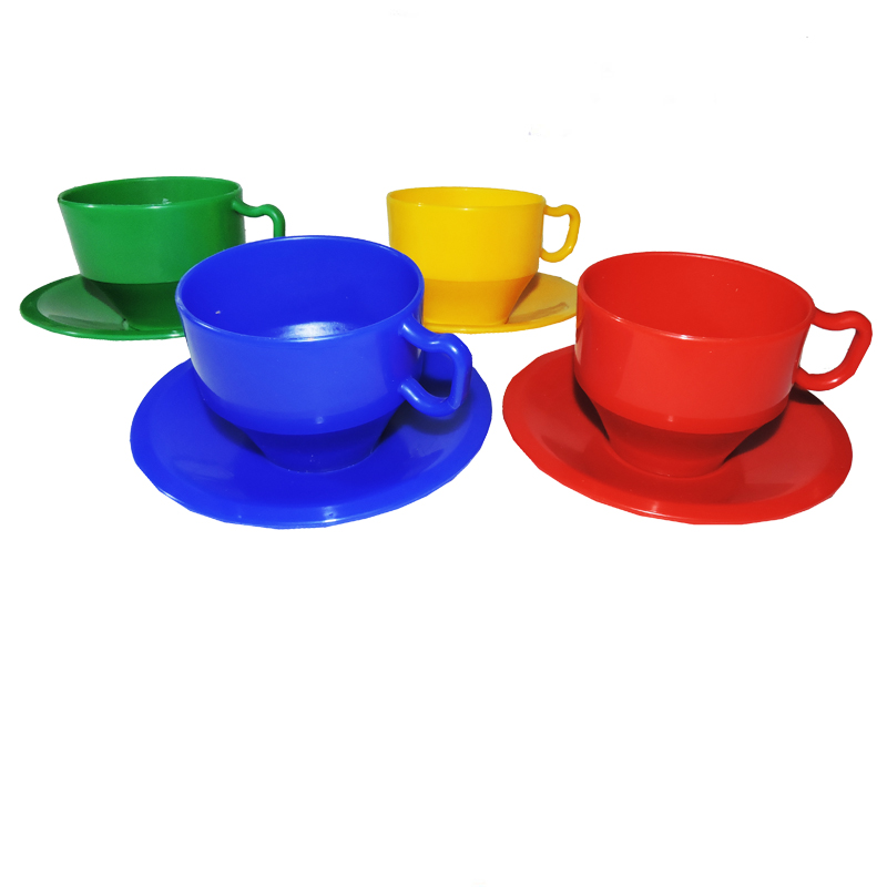 Jumbo Tea Cups Amp Saucers 8pc The Toy Factory Shop