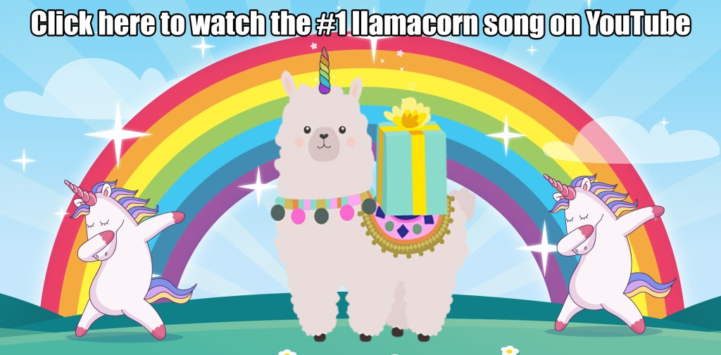 Llamacorn song header