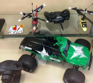 Toy House, Hobby store, toy store, RC Cars, helicopters, remote-controlled, radio controlled