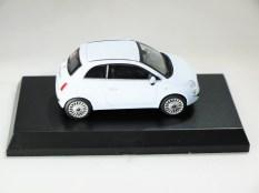 Kyosho 1-64 FIAT Minicar Col - 500 Light Blue - 05