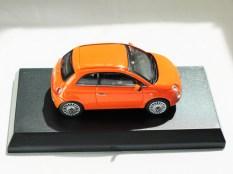 Kyosho 1-64 FIAT Minicar Col - 500 Orange - 05