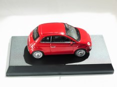 Kyosho 1-64 FIAT Minicar Col - 500 Red - 05