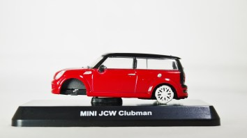 1-60 Kyosho MINI COOPER SEMI-ASSEMBLED JCW Clubman Red 01