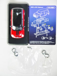 1-60 Kyosho MINI COOPER SEMI-ASSEMBLED JCW Clubman Red 09