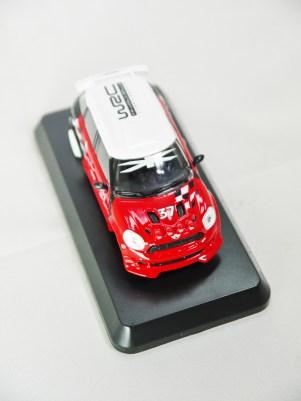 1-60 Kyosho MINI COOPER SEMI-ASSEMBLED JCW WRC Pre March 2012 Liveries 03
