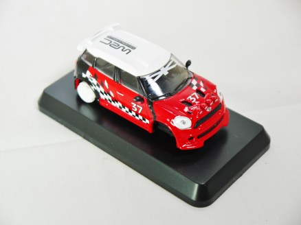 1-60 Kyosho MINI COOPER SEMI-ASSEMBLED JCW WRC Pre March 2012 Liveries 04