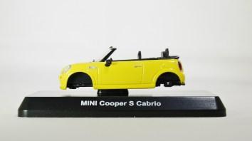 1-60 Kyosho MINI COOPER SEMI-ASSEMBLED S Cabrio YLW 01