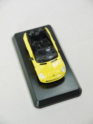 1-60 Kyosho MINI COOPER SEMI-ASSEMBLED S Cabrio YLW 03