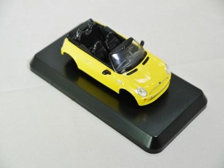 1-60 Kyosho MINI COOPER SEMI-ASSEMBLED S Cabrio YLW 04