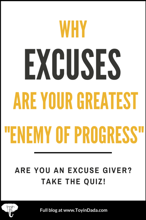 Excuse giver QUIZ