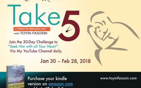 Day 30- Seek Him with all Your Heart, 30-Day Challenge