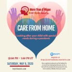 Care from Home: looking after your child with special needs during a pandemic