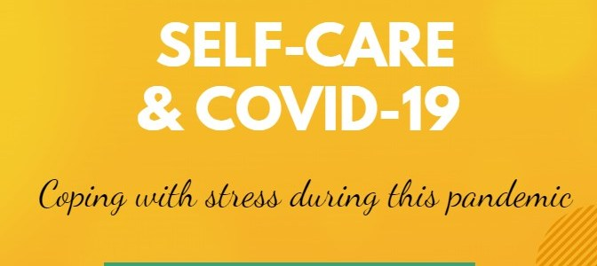 Register for the Self-Care & COVID-19 Zoom meeting