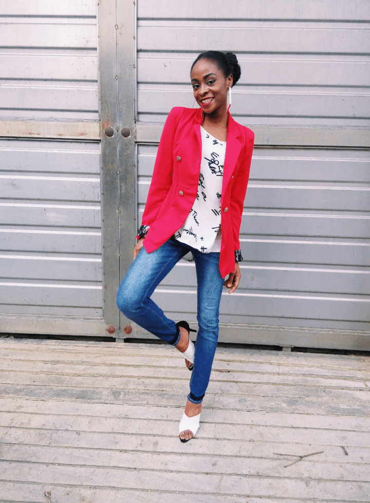 WHAT I WORE – RED CHRISTMAS