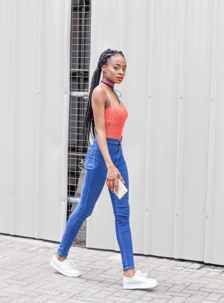 toluwalade top nigerian fashion blogger bodysuit stylish choker