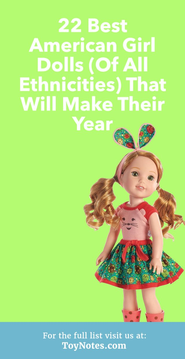 23 Best American Girl Dolls (Of All Ethnicities) That Will Make