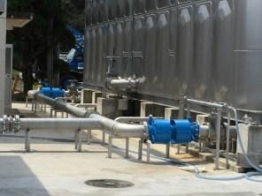 熊本県水俣市第一水源地/ベローズ形可撓管 300A