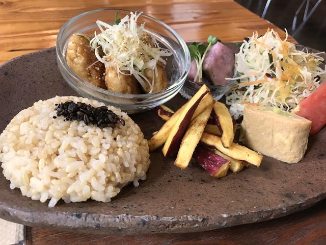 玄米ご飯定食