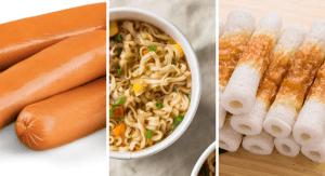 食品添加物を多く含んだ食べ物