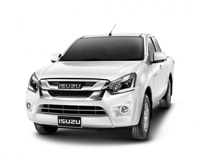 2016 Isuzu Dmax Double Cab white front side