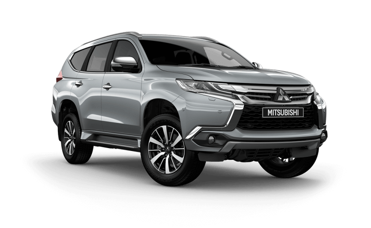Pajero Sport Front Exterior Silver