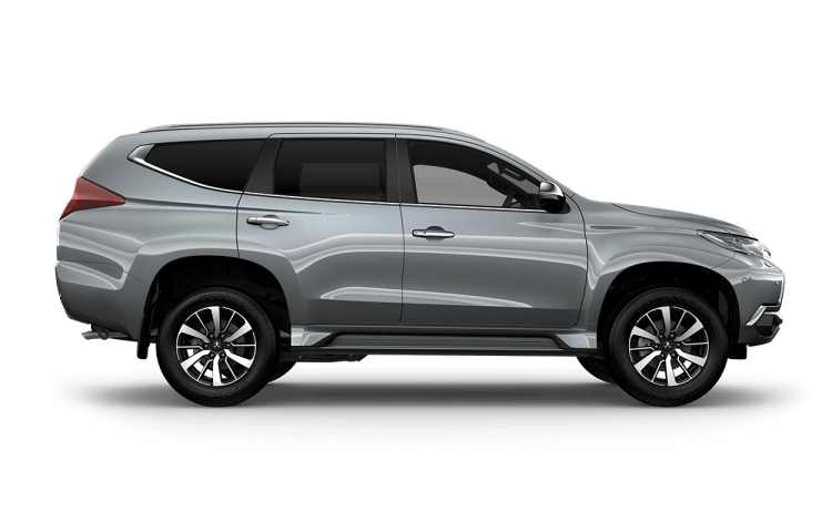 Pajero Sport Side Exterior Silver