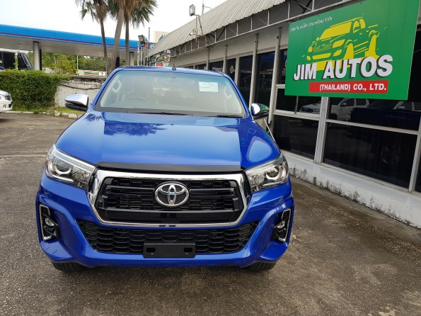 Toyota Hilux Toyota Pickup our biggest export to Trinidad and Tobago and Caribbean