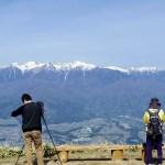 陣馬形山から見る絶景の中央アルプス【長野県中川村】