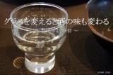 グラスを変えたらお酒の味が美味くなった気がする【自宅】