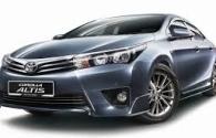 Toyota All New Corolla Altis Pekanbaru