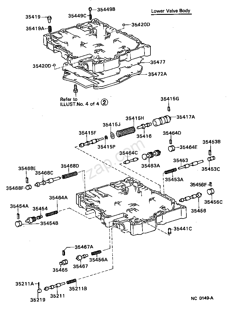 Toyota a131l transmission diagram images gallery