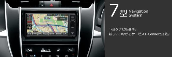 7型Navigation System